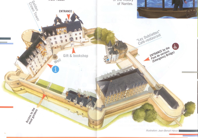 вот план-схема замка: