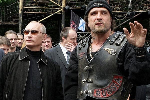 Путин-байкеры
