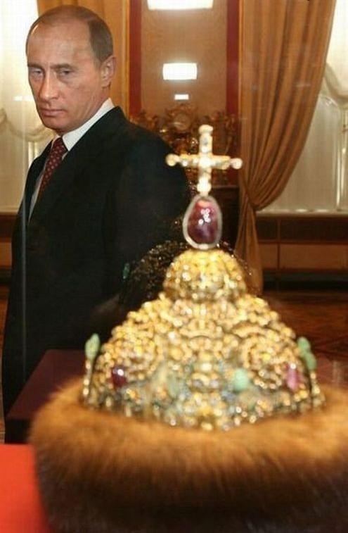 Путин - шапка