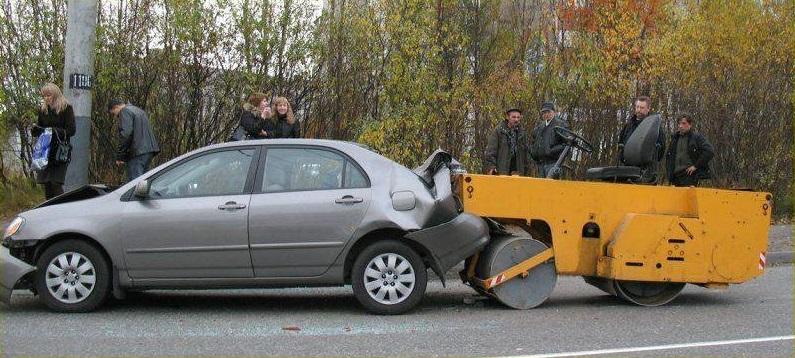 Картинки про аварии с надписями