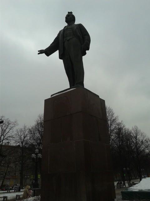 Ленин из мобильника