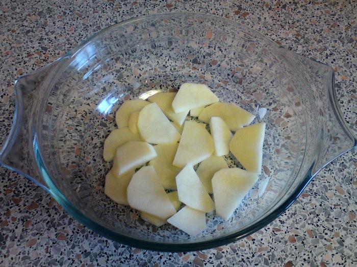 Курица с овощами и с лимоном 06