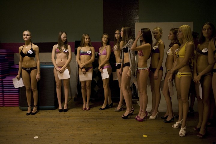 Русские девушки на кастинге у японцев
