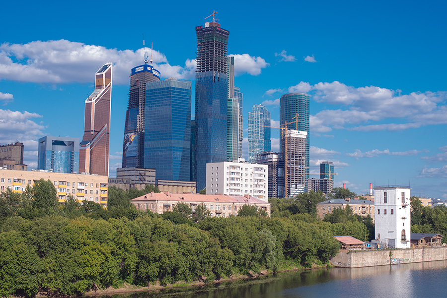 Moscow city 1