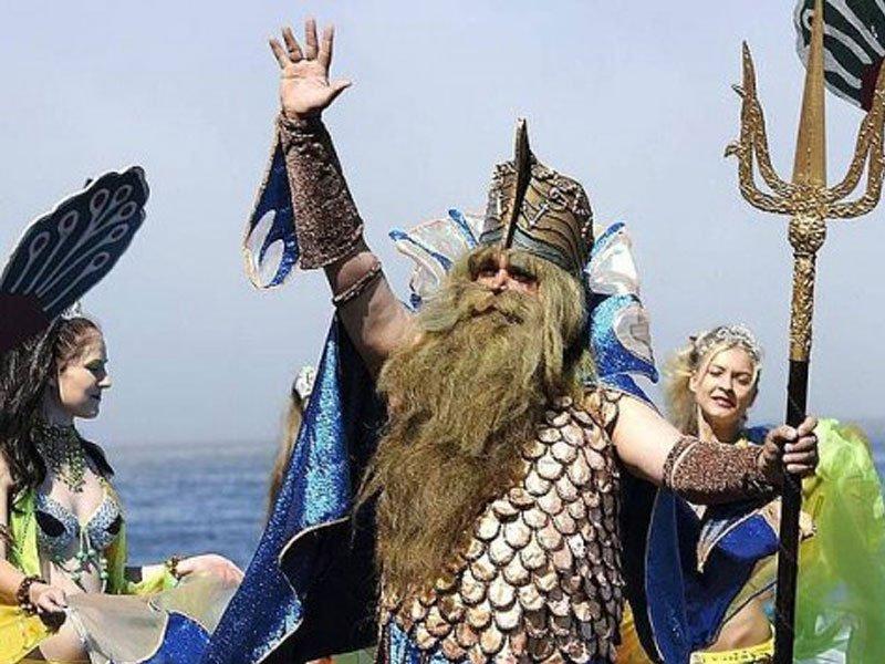 шествие ко дню рыбака