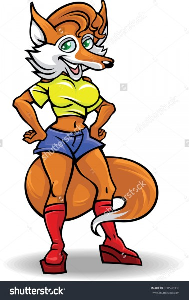 stock-vector-sexy-fox-in-a-short-shirt-and-shorts-358590308.jpg