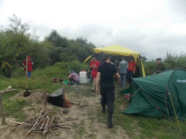секретный лагерь по подготовке