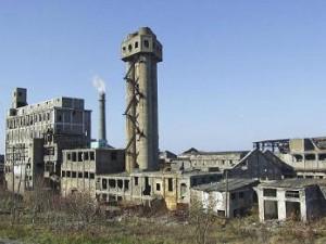 Промышленность руины