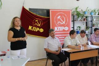 Информационное сообщение о работе Пленума Удмуртского рескома КПРФ.