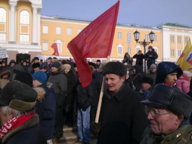 """В Ижевске прошел митинг """"За честные выборы"""""""