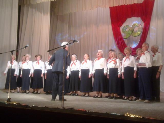 В Ижевске прошел праздничный концерт-встреча, посвящённой 90-летию Пионерии.