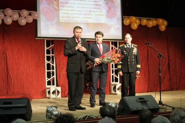 В Ижевске прошел концерт, посвященный 8 Марта.