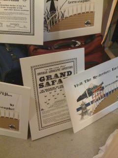 travel posters and grand safari poster