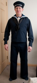 The completed WSL Able Seaman uniform