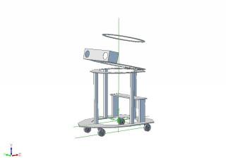 3d Model for inner frame of Project TDK