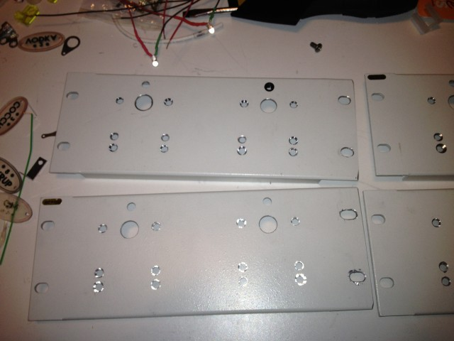 pump panels ready for component installation.
