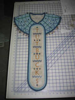 Finished pectoral neckpiece and cartouche