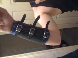 completed wrist bracer (inside wrist)