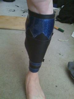 Left leg