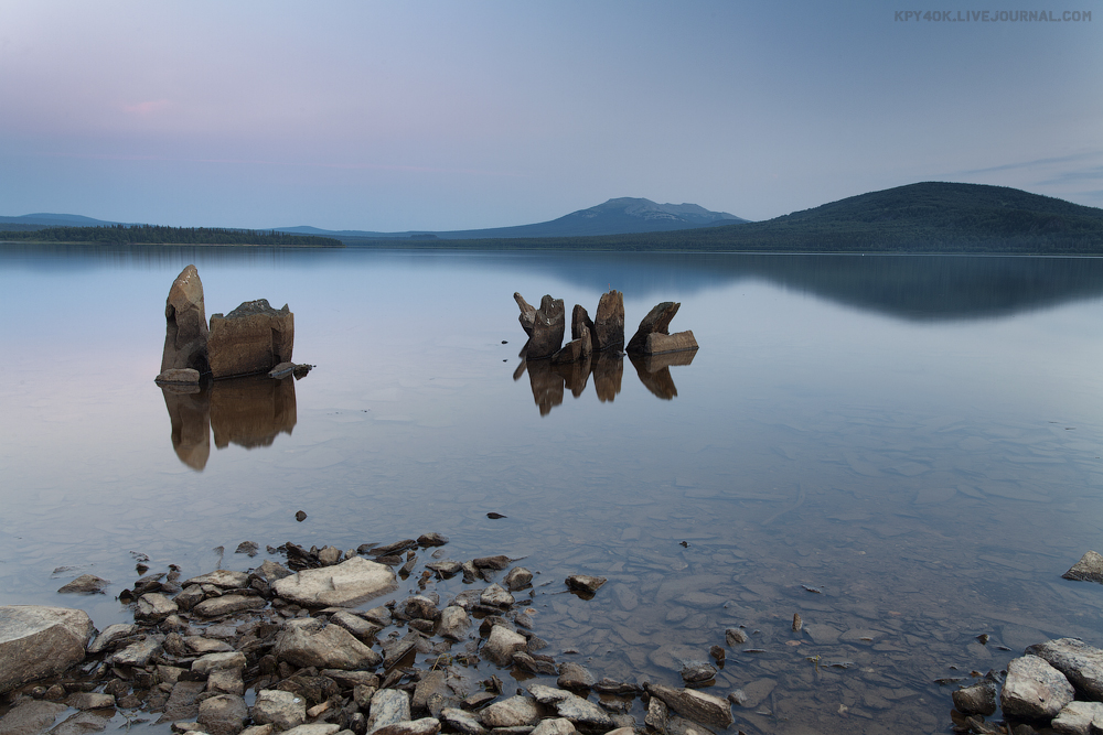 Озеро Зюраткуль фото: kpy4ok — LiveJournal