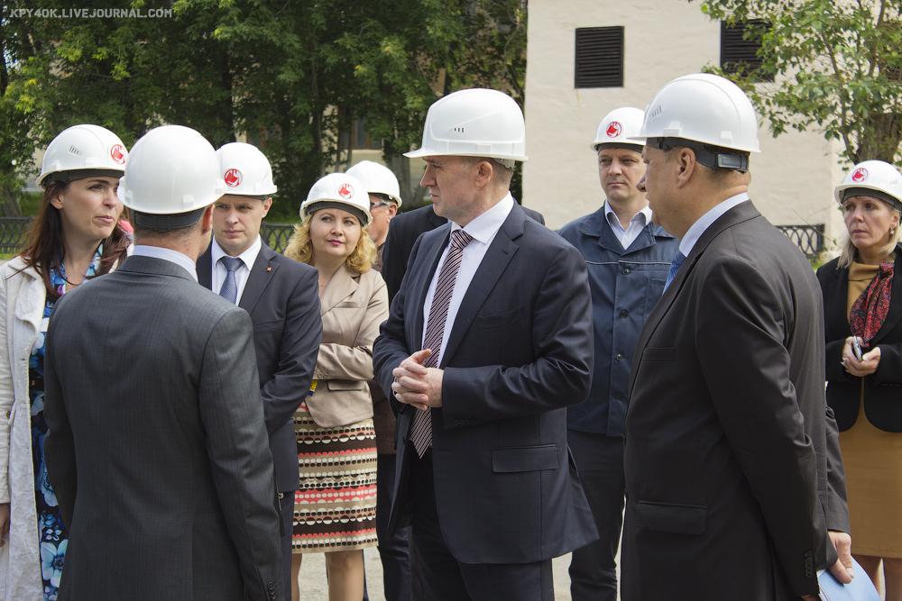 Губернатор, Борис Дубровский, Рабочий визит, УЗМИ, Уфалей