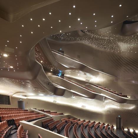 заха хадид, оперный театр