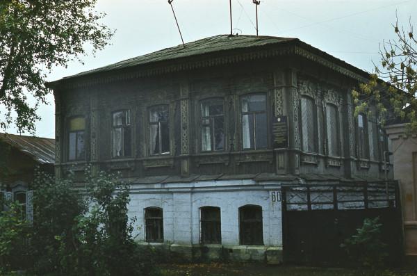 Дом на Красноармейской в 1986 году