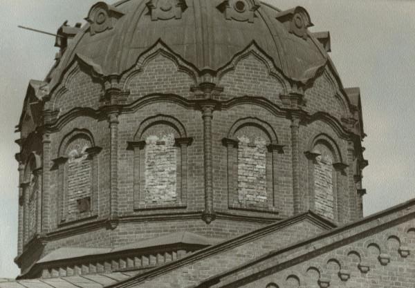 Купол храма Александра Невского, 1980-е годы
