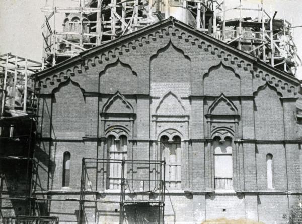 Реставрация Александро-Невской церкви, 1985 год