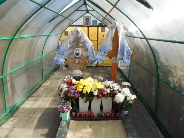 Могила Евдокии Маханьковой