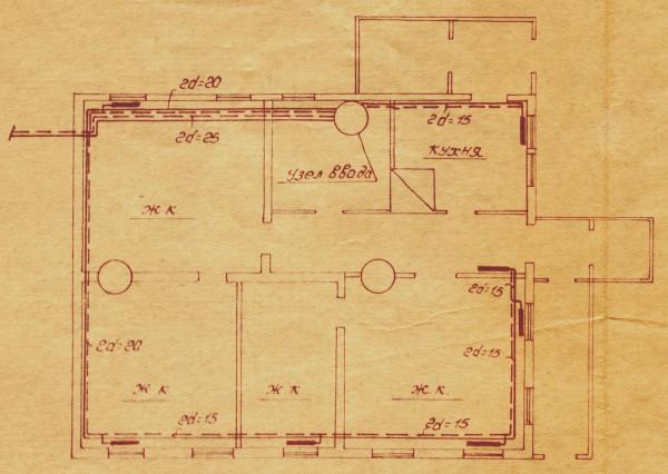 План дома (1-100)