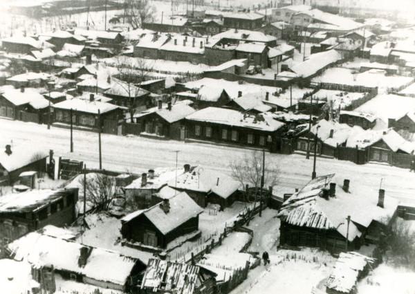 Ул. Российская, 1970-е годы