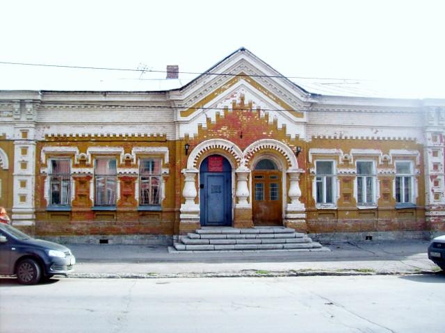 Бывшее здание Самарского Жандармского управления
