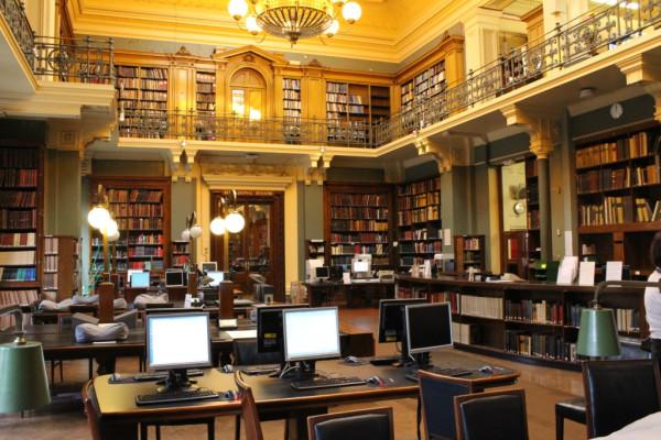 Национальная библиотека по искусству в музее Виктории и Альберто Лондон