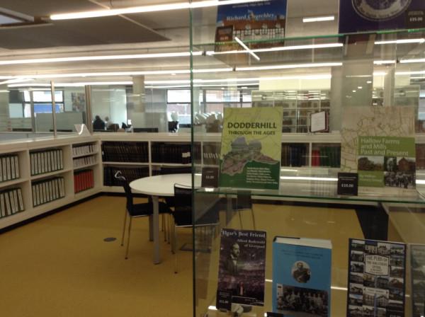 Зона краеведения библиотеки, совмещенная с архивом