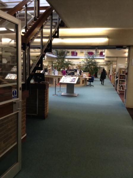 Центральная библиотека Оксфорд