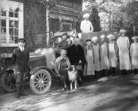 Лагерлеф Сельма в Морбакке, 1930 гг.