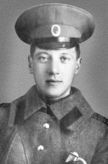 Николай Гумилев, 1914 г.