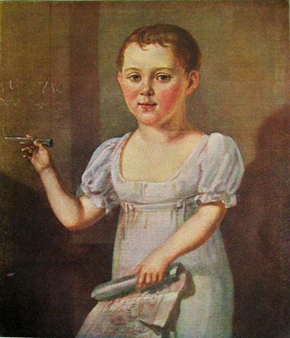 М._Ю._Лермонтов_ребенком._1817-1818_гг.