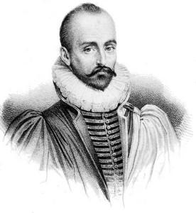 Графический портрет М. Монтеня