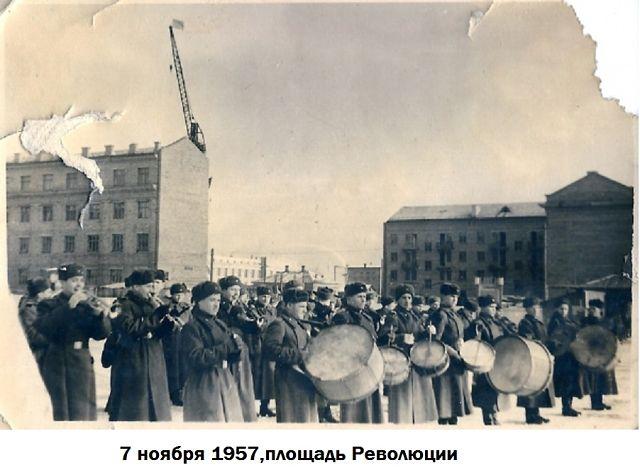оркест на площади