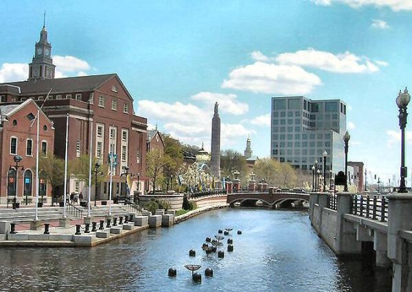 Вид на реку Providence, наше время