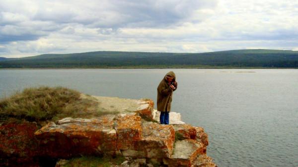 Валентина Вараксина на вершине Поп-горы