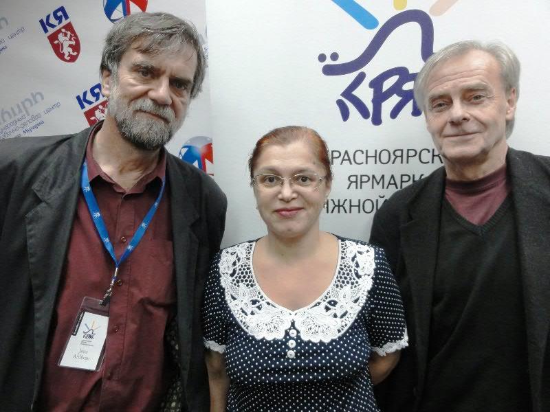 Встреча с Йенсом Альбумом и Стефаном Каста