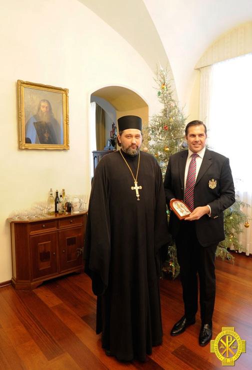 принц Анжуйский и православный