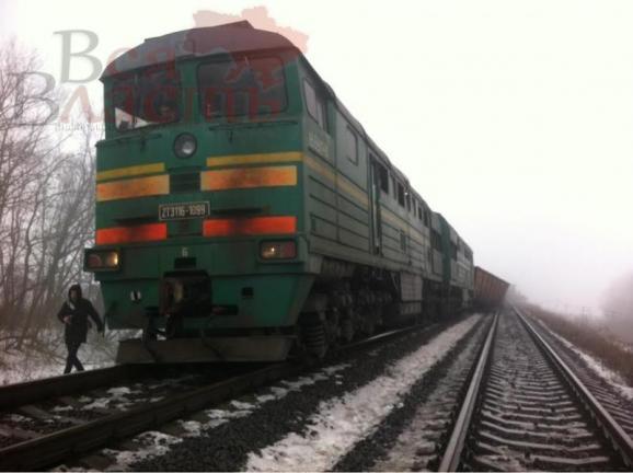 подорванный поезд с углем5