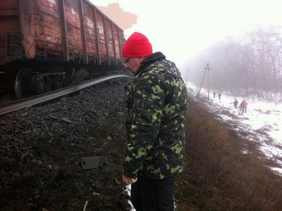 подорванный поезд с углем4
