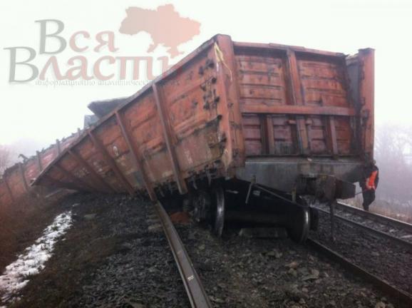 подорванный поезд с углем3