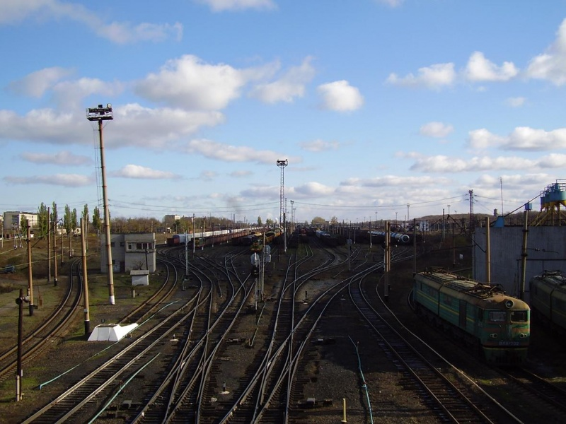 ЖД станция Дебальцево