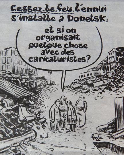 Шарли эбдо перемирие на Донбассе